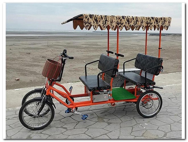 Four person Electric Surrey Bike,Electric 4 wheels